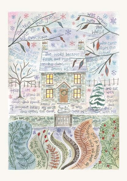 Hannah Dunnett Grace and Truth Christmas card