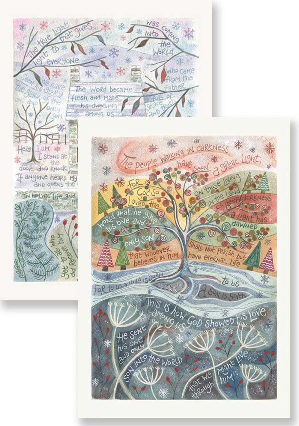 Hannah Dunnett Grace and Truth and For God so loved card pack