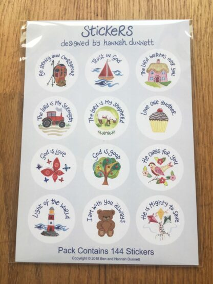 Hannah Dunnett Sticker Sheets front image