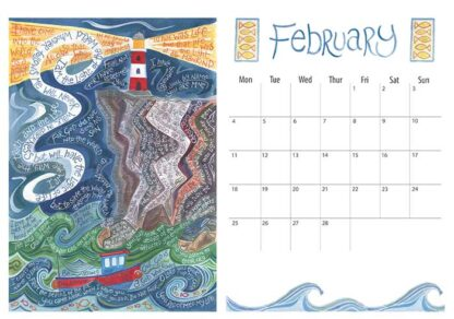 Hannah Dunnett 2019 calendar February