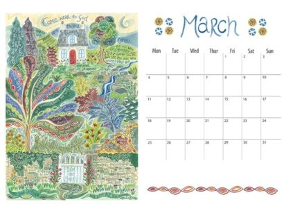 Hannah Dunnett 2019 calendar March