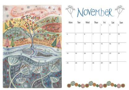 Hannah Dunnett 2019 calendar November