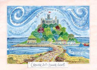 Hannah Dunnett 2019 calendar cover
