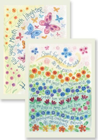 Hannah Dunnett Filled with Laughter and Joyful Songs Notecards