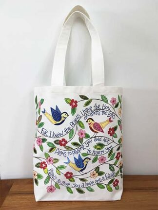 Hannah Dunnett For I Know the Plans Canvas Bag image