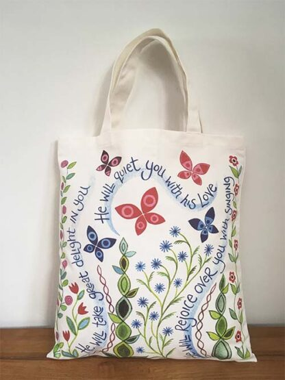 Hannah Dunnett Great Delight Canvas Bag front image