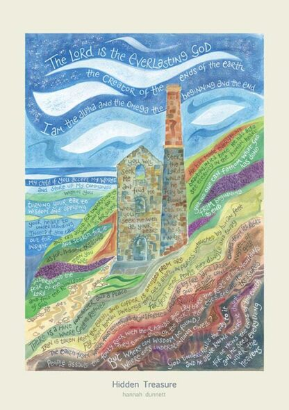 Hannah Dunnett Hidden Treasure greetings card