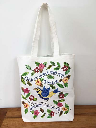 Hannah Dunnett I have come Canvas Bag image