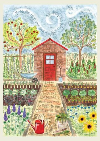 Hannah Dunnett The Gardener notebook cover