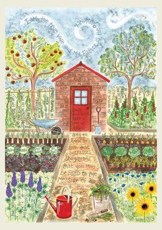 Hannah Dunnett The Gardener notebook cover