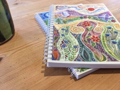 Hannah Dunnett The Work of His Hands notebook ultra closeup image