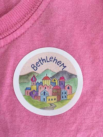 Hannah Dunnett Bethlehem Christmas Sticker image