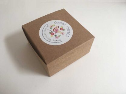 Hannah Dunnet Birds Coasters Gift Box