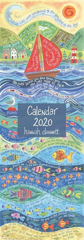 Hannah Dunnett 2020 Slimline Calendar Cover Image
