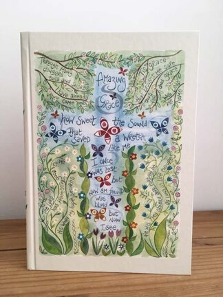 Hannah Dunnett Amazing Grace Journal USA version Front Cover image
