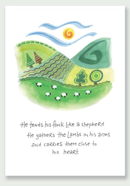 Hannah Dunnett Close To His Heart notecard and print USA version