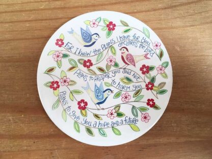 Hannah Dunnett For I Know The Plans coaster image