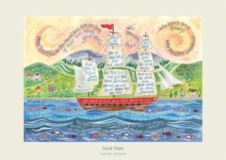 Hannah Dunnett Good Hope poster and greetings card USA version