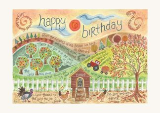 Hannah Dunnett Happy Birthday Card Farm Picture USA version