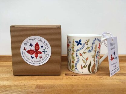 Hannah Dunnett He Delights in You China Mug with gift box