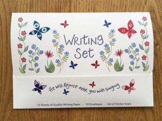 Hannah Dunnett He Will Rejoice Over You Writing Set front cover