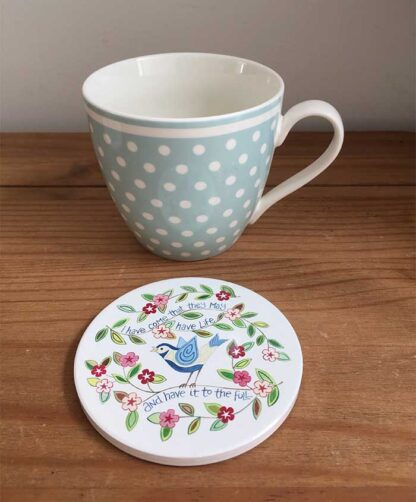 Hannah Dunnett I have come coaster and mug image