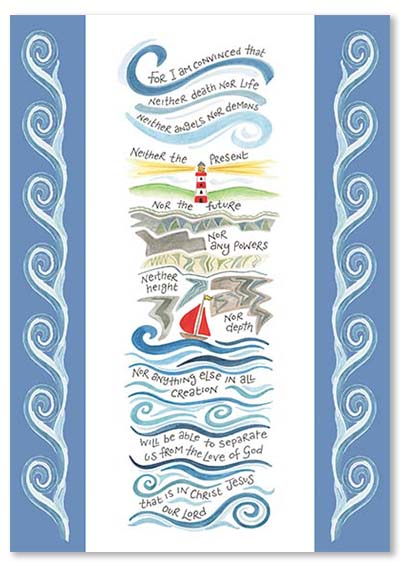 Hannah Dunnett Nothing Will Separate Us greetings card USA version