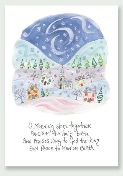Hannah Dunnett Proclaim The Holy Birth Christmas Card USA version