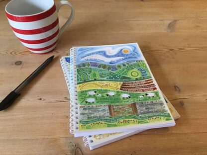 Hannah Dunnett The Good Shepherd notebook USA version closeup image