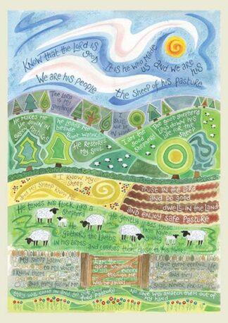 Hannah Dunnett The Good Shepherd notebook USA version cover