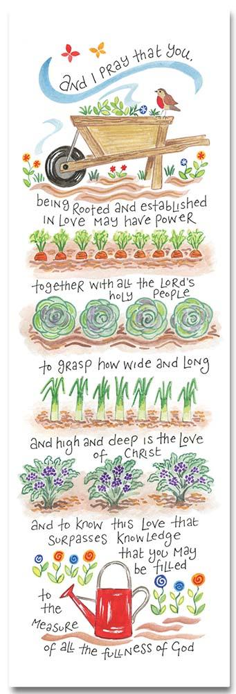 Hannah Dunnett The Love of Christ bookmark front image