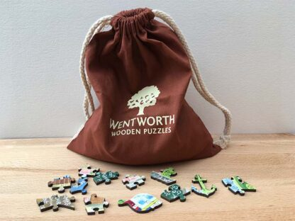 Hannah Dunnett The Way The Truth and The Life Jigsaw bag