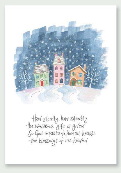 Hannah Dunnett The Wondrous Gift Christmas Card USA version
