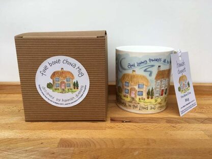 Hannah Dunnett Trust in The Lord China Mug With Gift Box
