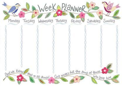 Hannah Dunnett week planner