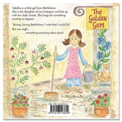 Tabitha kids book by Hannah Dunnett back cover image