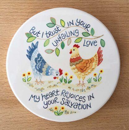 Hannah Dunnett Unfailing Love Coaster image