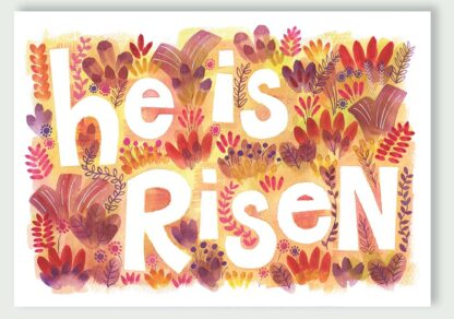 Hannah Dunnett He is Risen Notecard