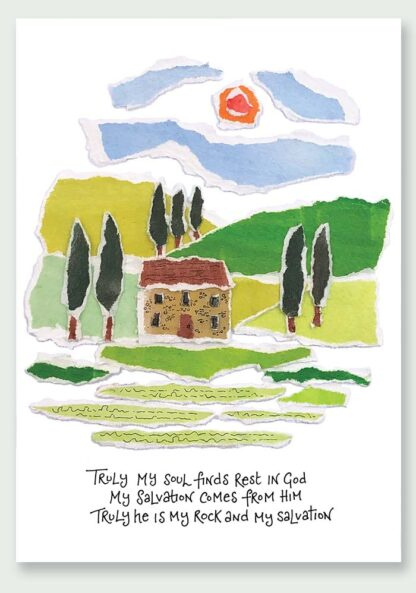 Hannah Dunnett My Soul Finds Rest Notecard
