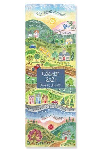 Hannah Dunnett 2021 Slimline Calendar Cover image