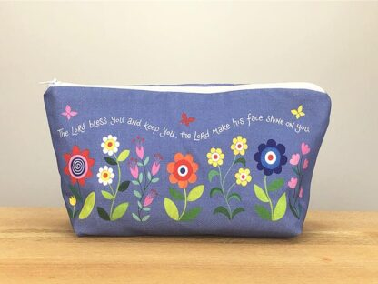 Hannah Dunnett Bless You and Keep You Cosmetic Bag