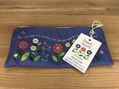 Hannah Dunnett His Compassions Never Fail Pencil case with label