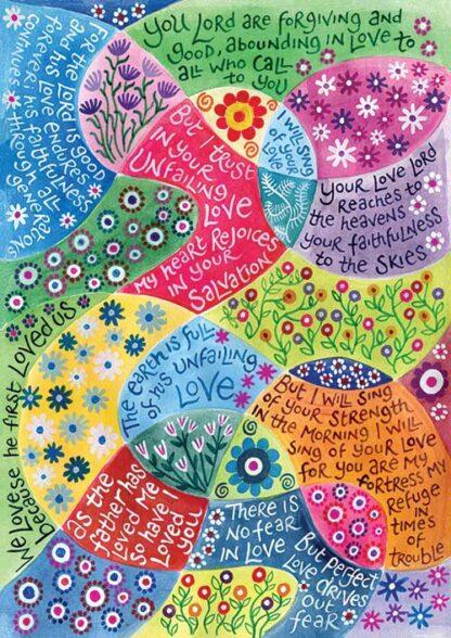 Hannah Dunnett Perfect Love Notecard