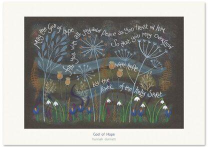 Hannah Dunnett God of Hope Greetings card