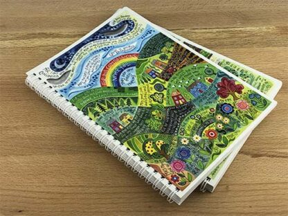 Hannah Dunnett His Compassions Never Fail notebook closeup