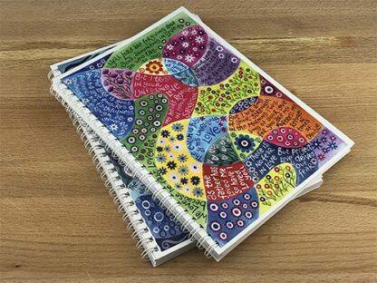 Hannah Dunnett Perfect Love notebook closeup image