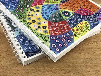 Hannah Dunnett Perfect Love notebook ultra closeup image