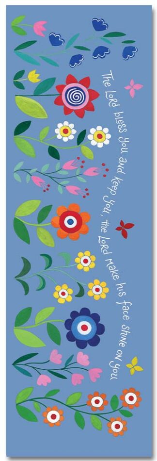 Hannah Dunnett The Lord Bless You bookmark front image