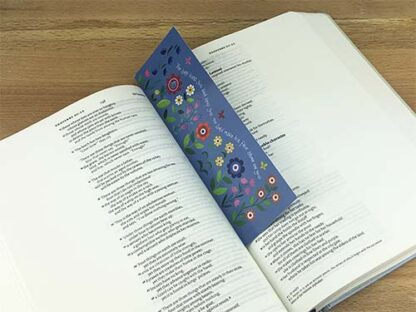 Hannah Dunnett The Lord Bless You bookmark on book image