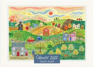 Hannah Dunnett 2022 Calendar cover US